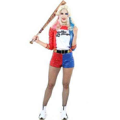 Fantasia Arlequina Harley Quinn Esquadrão Suicida Original