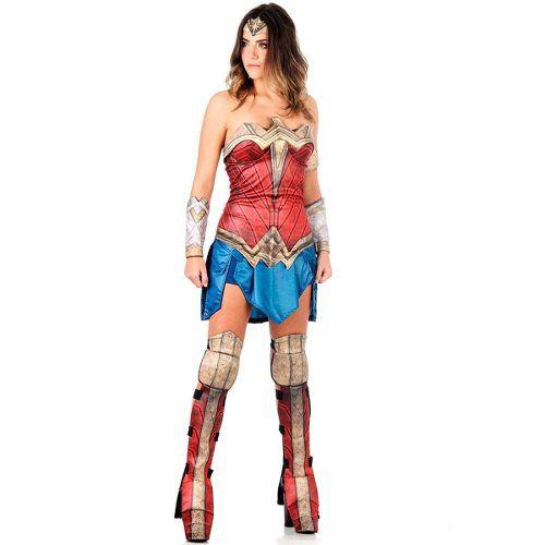 Fantasia Mulher Maravilha Adulto Filme Batman Vs Superman
