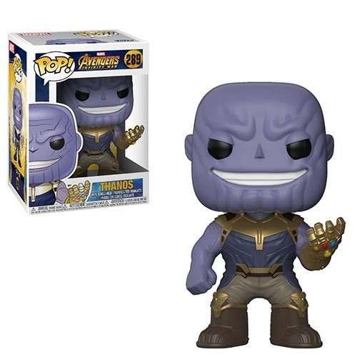 Boneco Funko Pop Thanos Vingadores Guerra Infinita Marvel