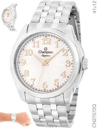 Relógio Champion Feminino Elegance Cn27572q
