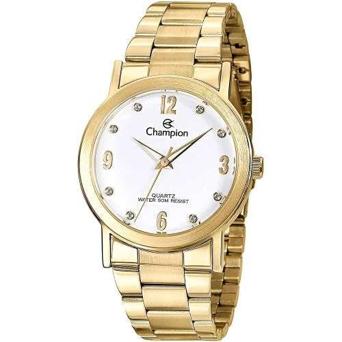 d6fa5ad77d Relógio Analógico Feminino Champion Fashion Cn29025h - SUPER25