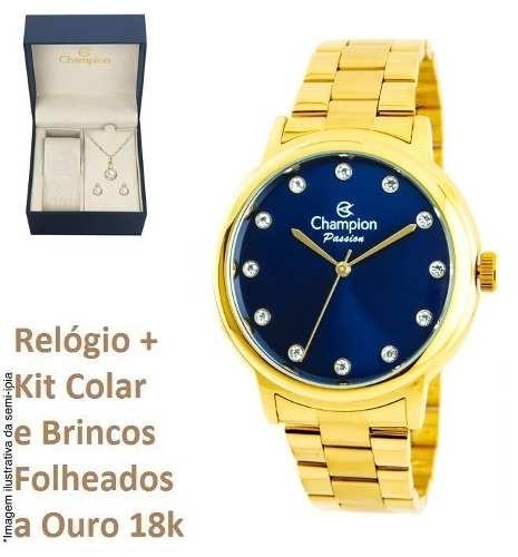 Relógio Champion Feminino Cn29874a O R I G I N A L + Brinde