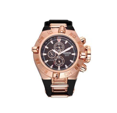Relógio Masculino Shhors Rose Aço 2730