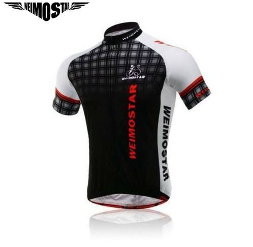 Camisa De Ciclismo Masculina Manga Curta
