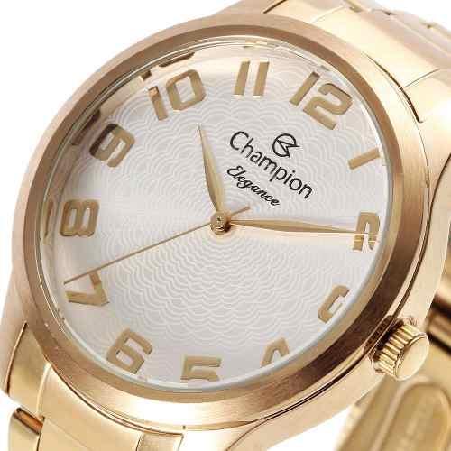 Relógio Champion Feminino Original Cn26064w Analógico
