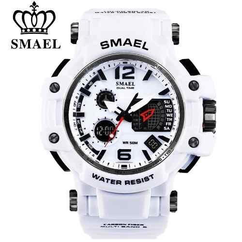 mejores marcas compra venta precio inmejorable Relógio Masculino Militar G-shock Smael 1509 Prova D'água