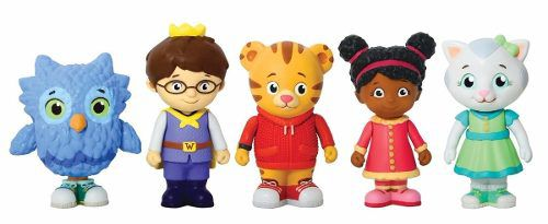 Kit Mini Figuras Daniel Tigre Disney Jr Com 5 Personagens