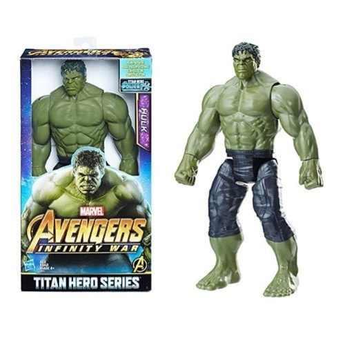 Boneco Hulk 30cm Titan Hero Hasbro Avengers Marvel Original
