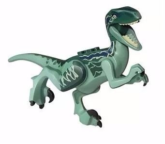 Kit 7 Lego Dinossauros Jurassic World Park Minifigures