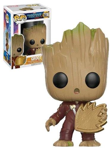 Pop Funko 208 Groot Hot Topic Exclusive Guardians Od The Gal