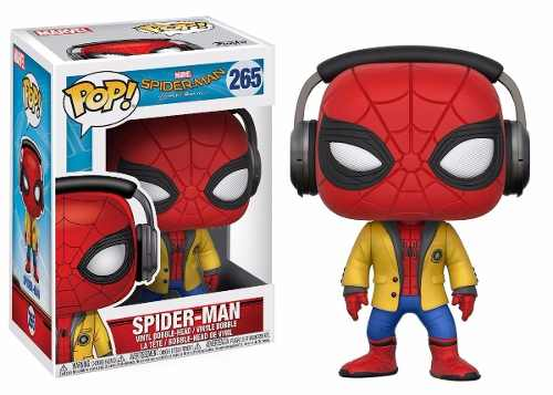 Funko Pop! Homecoming Spider-man With Headphones #265