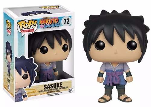 Naruto Shippuden Boneco Sasuke Pop Vinil Da Funko 10cms