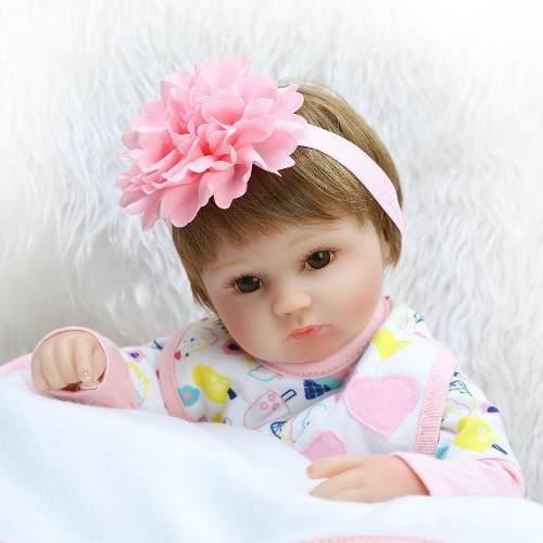 Boneca Reborn Linda Bebê Menina Princesa - Pronta Entrega