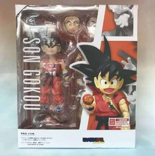 Goku Kid Dragon Ball Sh Figuarts Bandai - Pronta Entrega