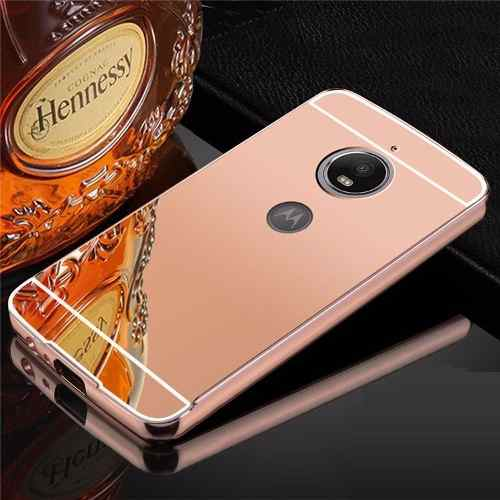 Capa Capinha Espelhada Luxo Motorola Moto E4 Plus Tela 5.5