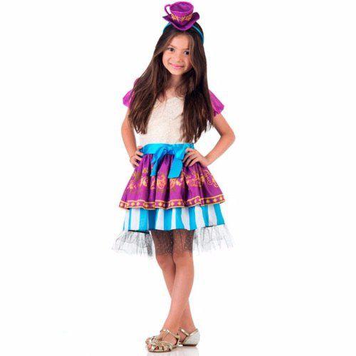 Fantasia Madeline Hatter Ever After High Infantil Luxo