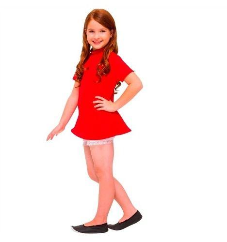 Fantasia Monica Turma Da Monica Infantil Original Vestido