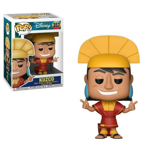 Funko Pop! A Nova Onda Do Imperador - Kuzco 357 Disney