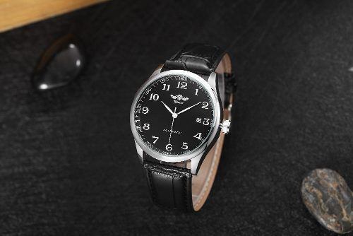 Relógio Masculino Winner Automatico Classico Preto