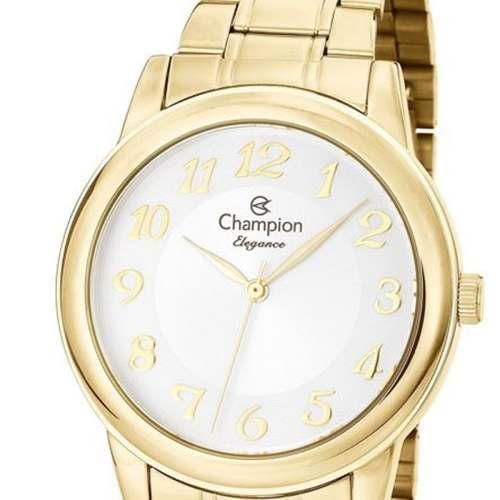 Relógio Champion Feminino Cn26804w + Kit Semijoia
