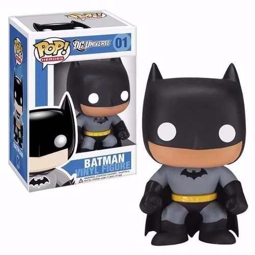 Dc Heroes Boneco Pop Vinil Funko Batman Tradicional 10cms