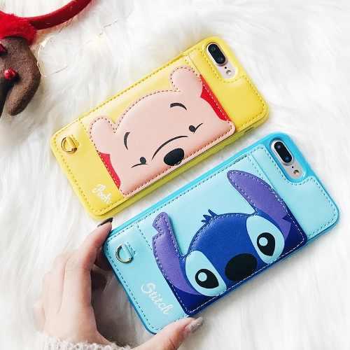 Capinha Case Capa Ursinho Pooh Stitch 3d Luxo Para Iphone X