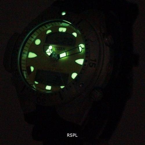 Relógio Citizen Masculino Aqualand Jp1060-01e Prata TZ10020J