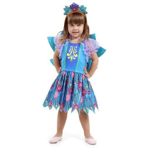 Fantasia Patter Peacock Infantil Pavao - Enchantimals