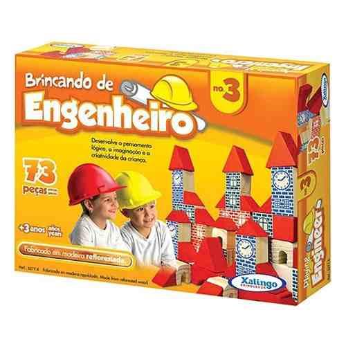 Brincando De Engenheiro No.3 Xalingo Brinquedos