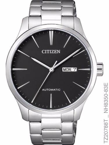Relógio Masculino Citizen Prata Preto Tz20788t