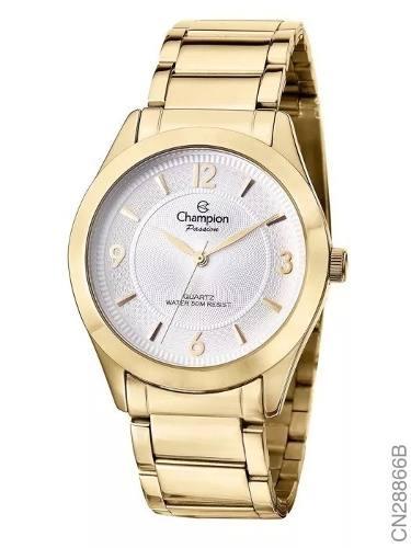 Relógio Champion Feminino Cn28866b + Kit Brinde