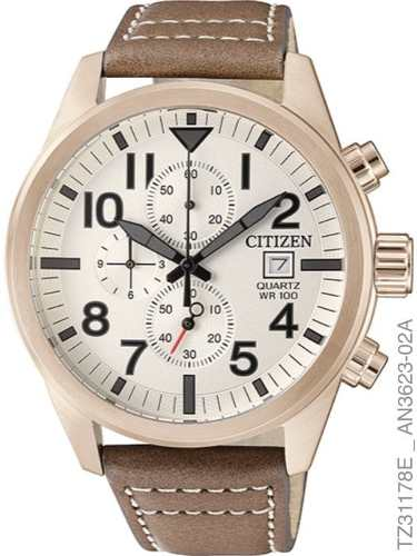 Relógio Citizen Tz31178e Cronógrafo Quartz An3623-02a