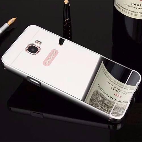 Capa Capinha Alumínio Espelhada Galaxy J7 Prime G610