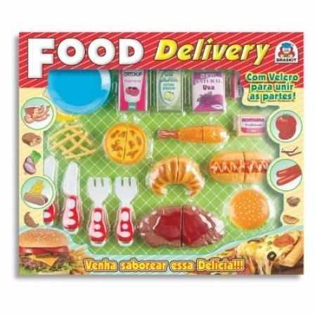 Food Delivery Lanche Comidinha Crec - Braskit Brinquedos