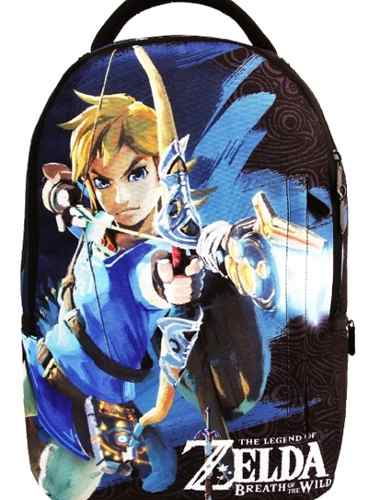 Mochila Zelda The Legend Escolar Costas G Notebook Overprint