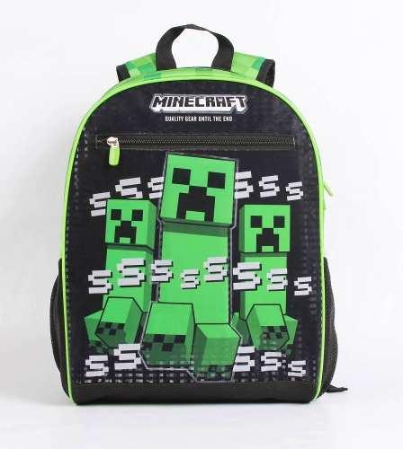 Mochila Grande Dmw Minecraft 11487 - Creeper