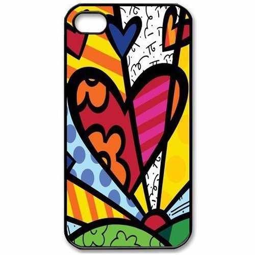 Capinha Capa Case Romero Brito Iphone 5c, 6, 6 Plus Acrilica