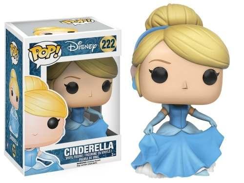 Funko Pop Boneca Cinderela (cinderella) Novas Princesas #222