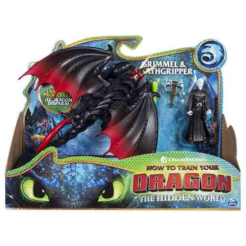 Grimmel & Deathgripper Lança Pr. Como Treinar O Seu Dragão 3