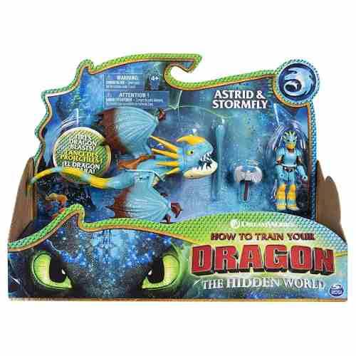 Astrid & Tempestade Fogo Como Treinar O Seu Dragão 3