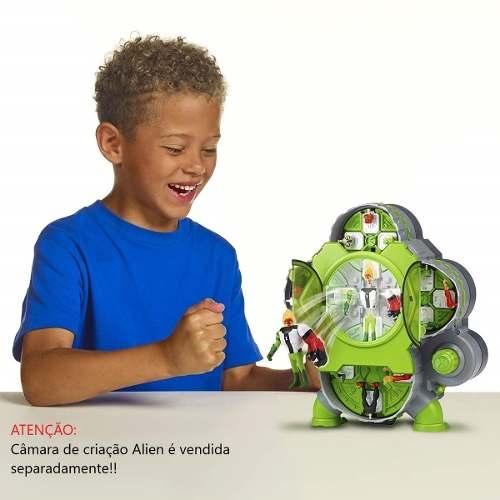 Ben 10 - 2 Bonecos Criação Alien Xlr8 E Bala De Canhão