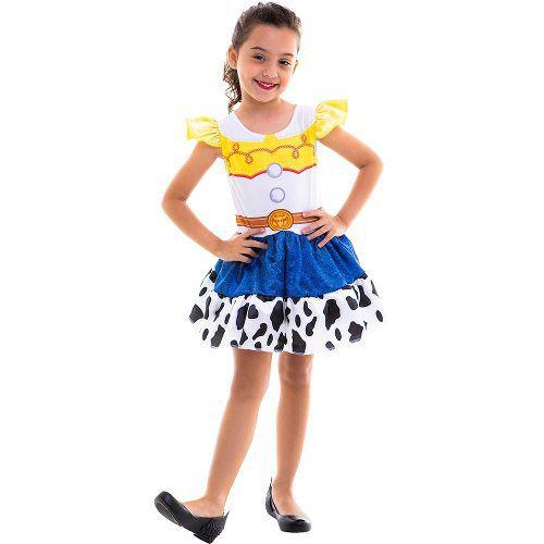 Fantasia Jessie Toy Story Infantil Vestido