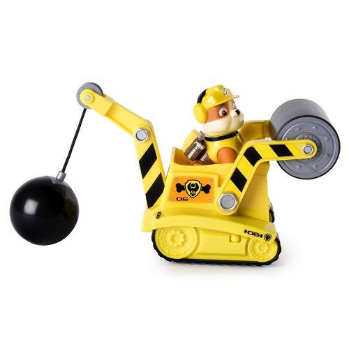 Veiculo Steam Roller Rubbles Patrulha Canina Paw Patrol