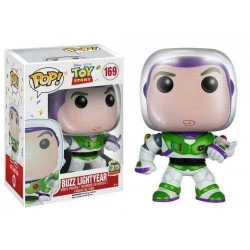 Funko Pop Disney Toy Story Boneco Buzz Lightyear #169