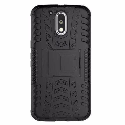 Capa Capinha Anti Impacto Para Celular Motorola Moto G4 Plus  - Preta