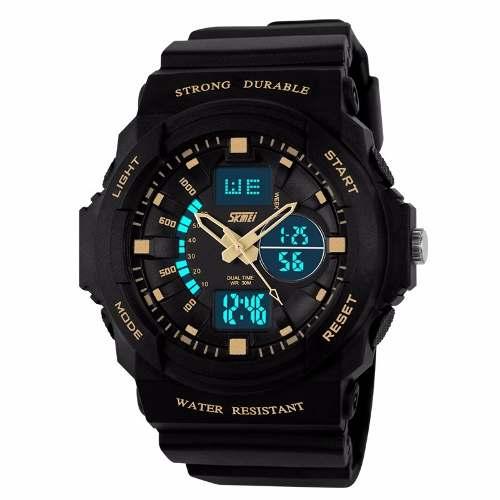 Relógio Masculino Skmei Esportivo Militar Digital Original 0955