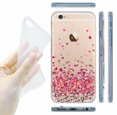 Capinha Case Capa Iphone 6s Plus Chuva Coracoes