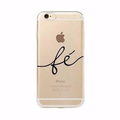 Capinha Capa Case Iphone 6 Plus 6s Plus Fe Amor Paz Barato