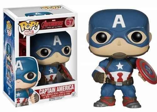 Funko Pop! Captain America - Capitão América #67
