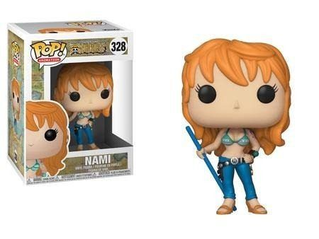 One Piece Boneco Pop Funko Nami #328